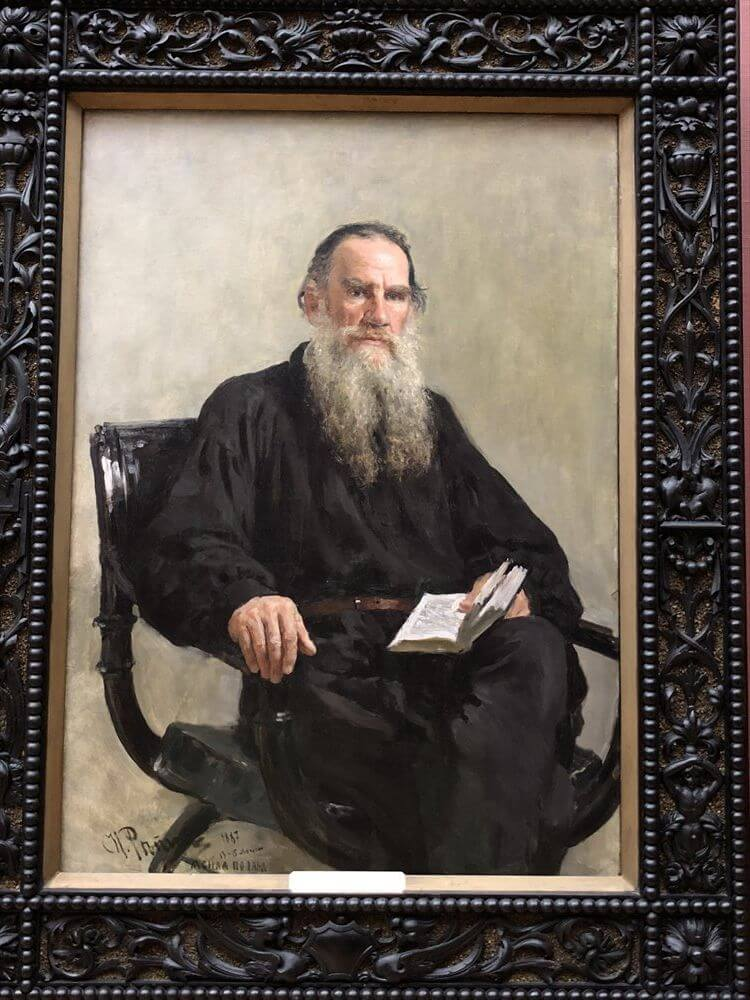 トレチャコフ美術館の「トルストイの肖像」