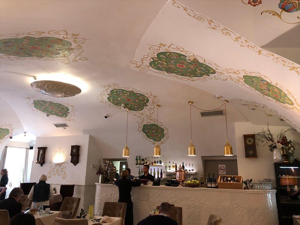 トレチャコフ美術館のレストラン内観