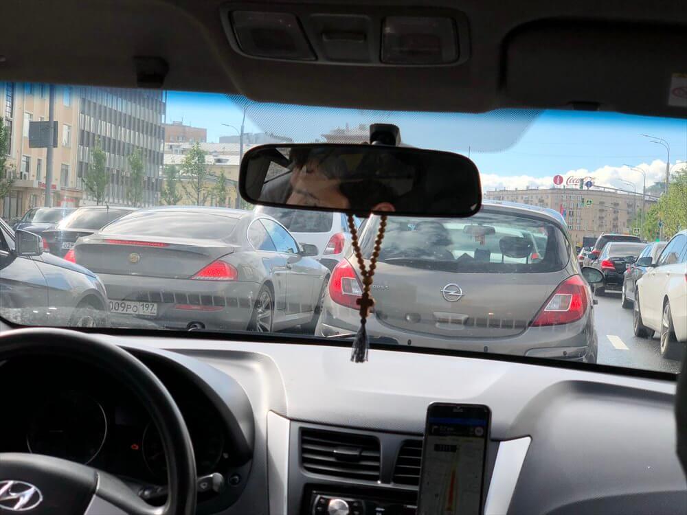 モスクワの渋滞