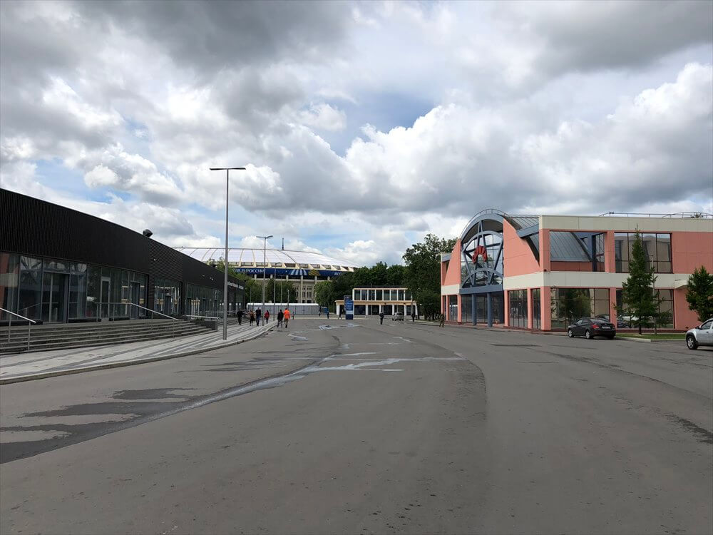 Sportivnaya駅からLuzhniki駅方面4