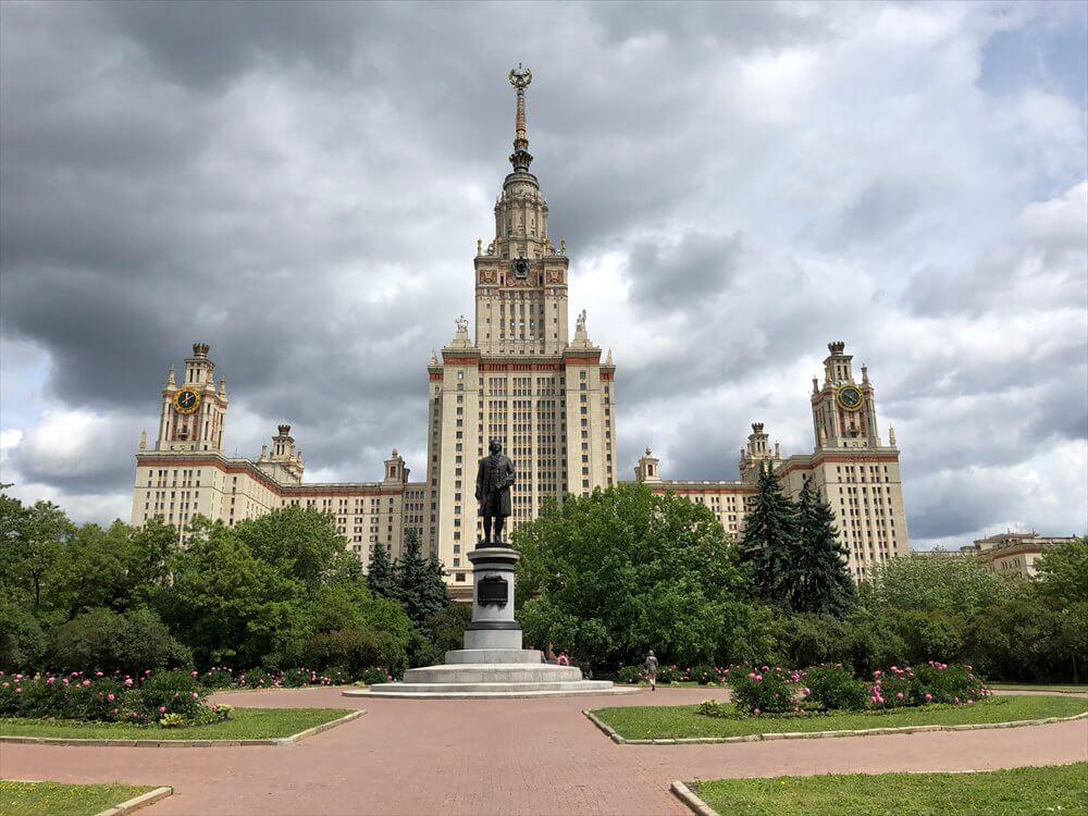 モスクワ大学の全景
