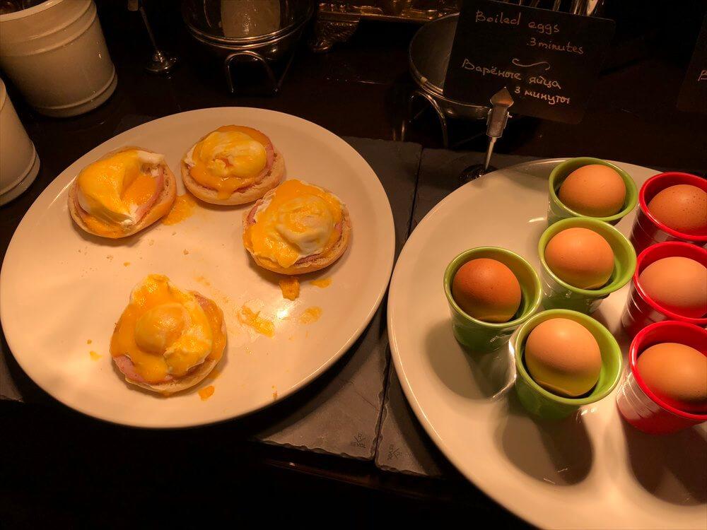 モスクワ マリオット ロイヤル オーロラ ホテルの朝食(3日目)1