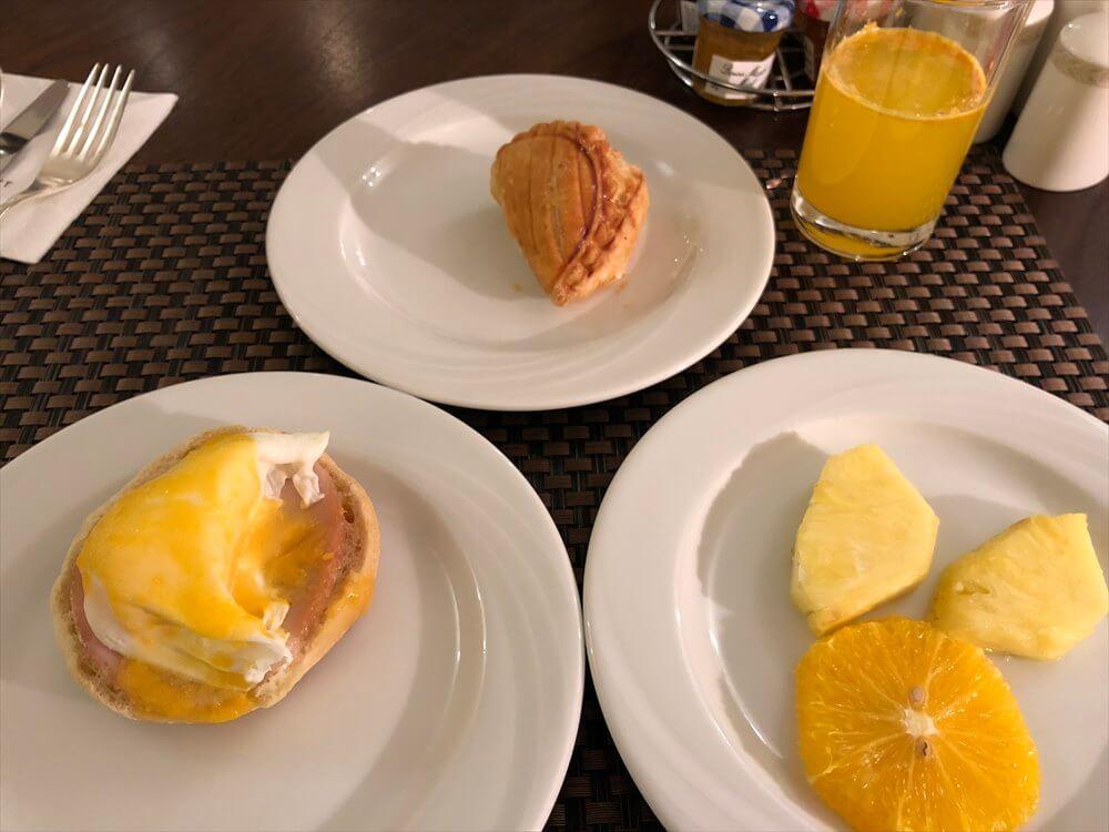 モスクワ マリオット ロイヤル オーロラ ホテルの朝食(3日目)2