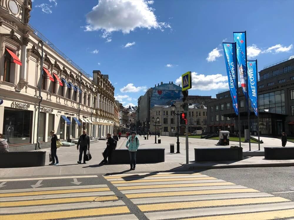 モスクワのキレイな街並み1