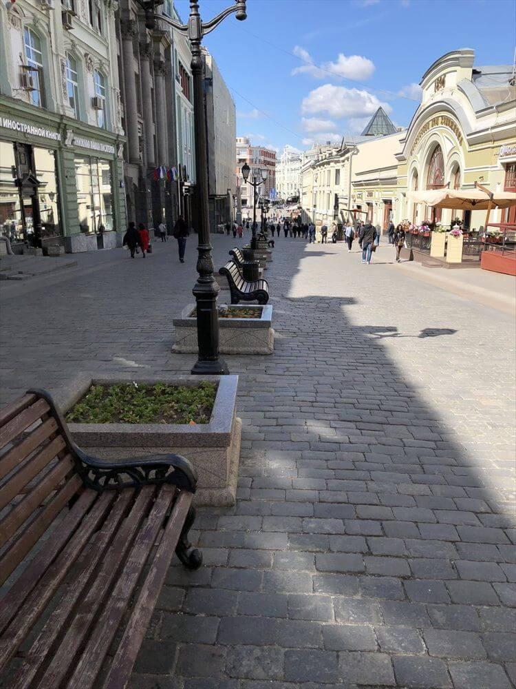 モスクワのキレイな街並み2