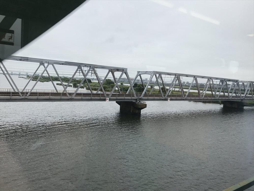 広大な木曽三川