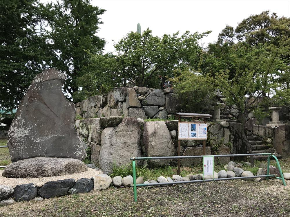 桑名城の天守台跡