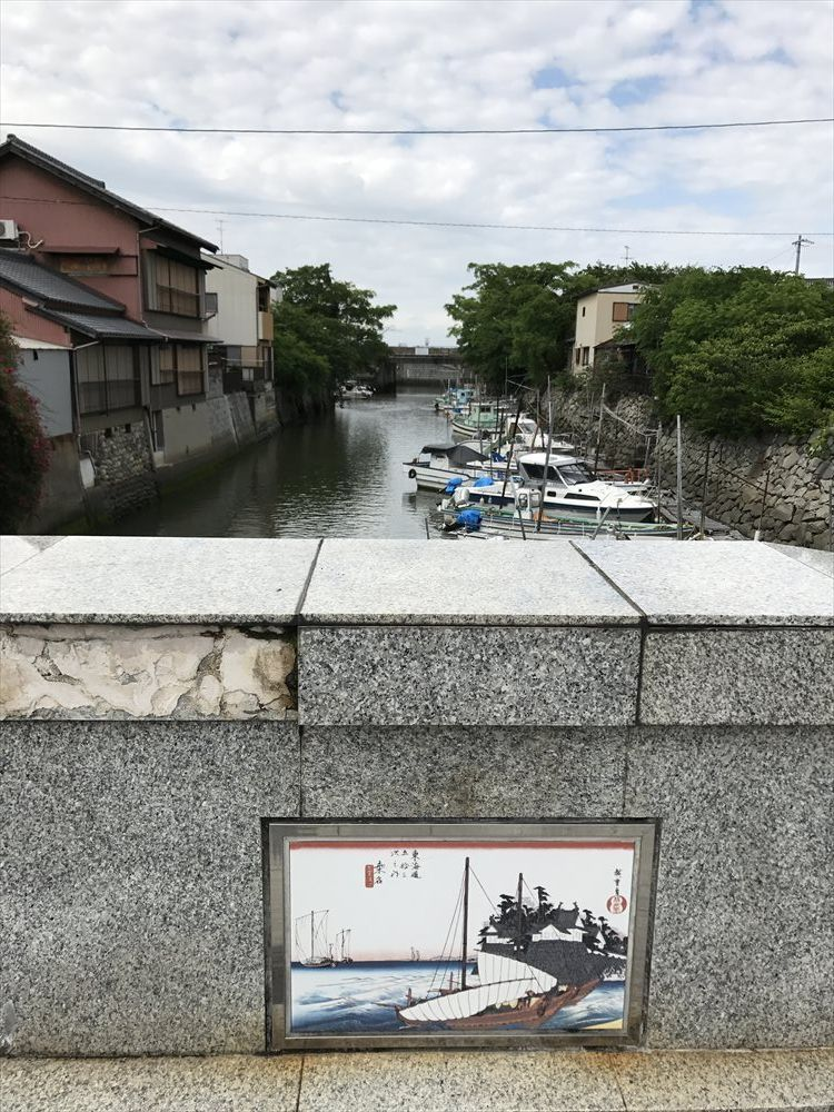 桑名城の北大手橋から2