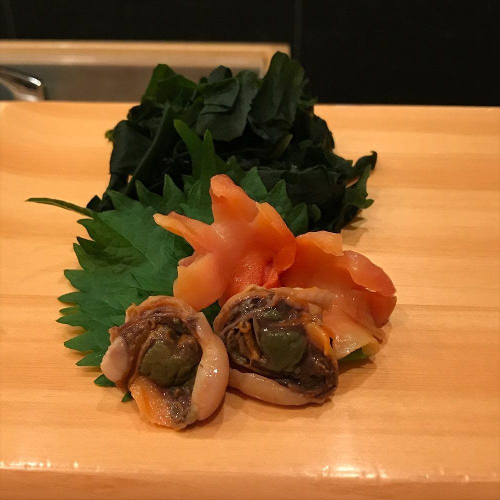江戸前鮨 大塚の赤貝