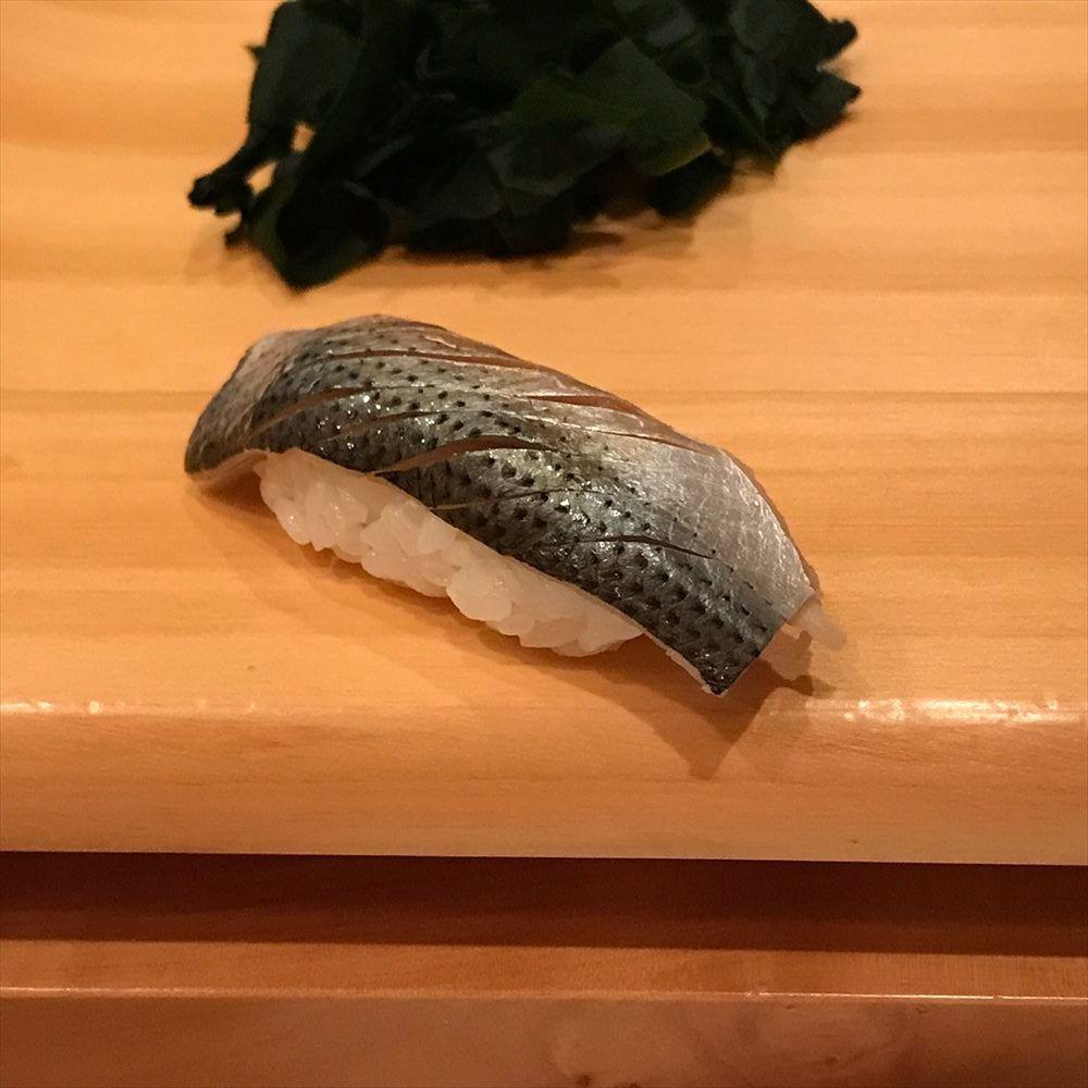 江戸前鮨 大塚のコハダ