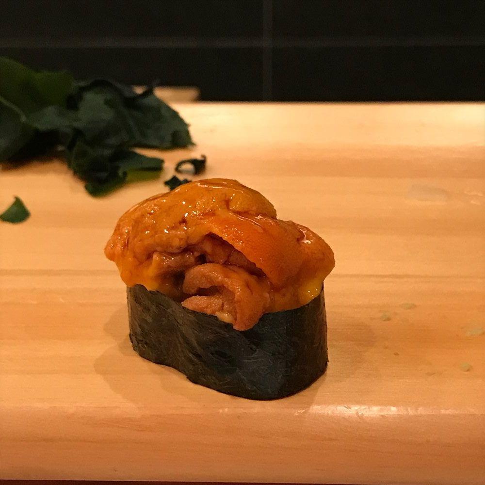 江戸前鮨 大塚のウニ