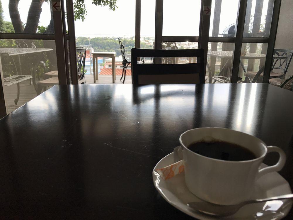 石畳茶屋 真珠のコーヒー