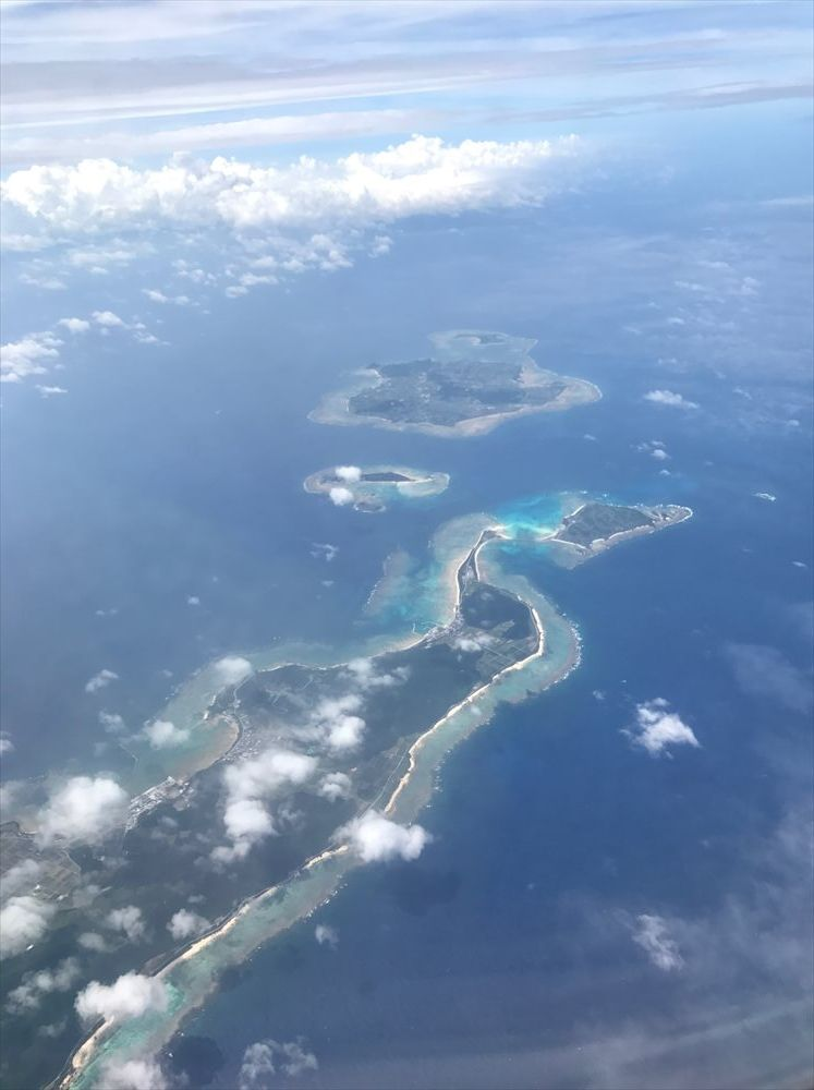 JAL905便からの眺め