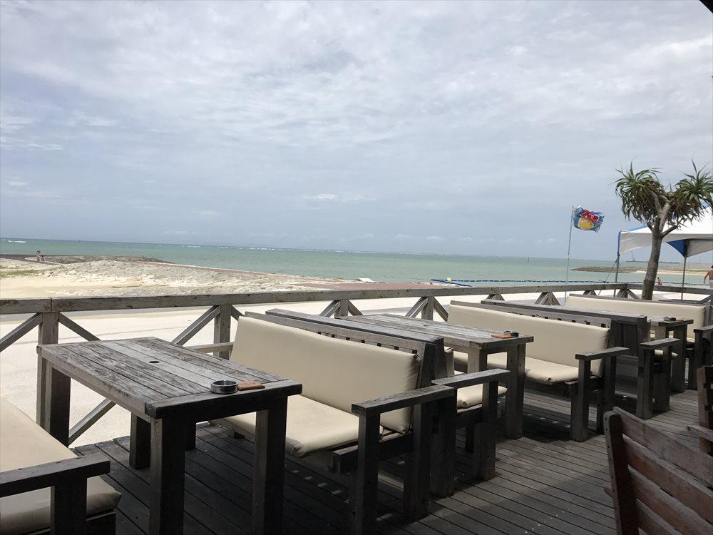 リゾートカフェカイから美らSUNビーチ1