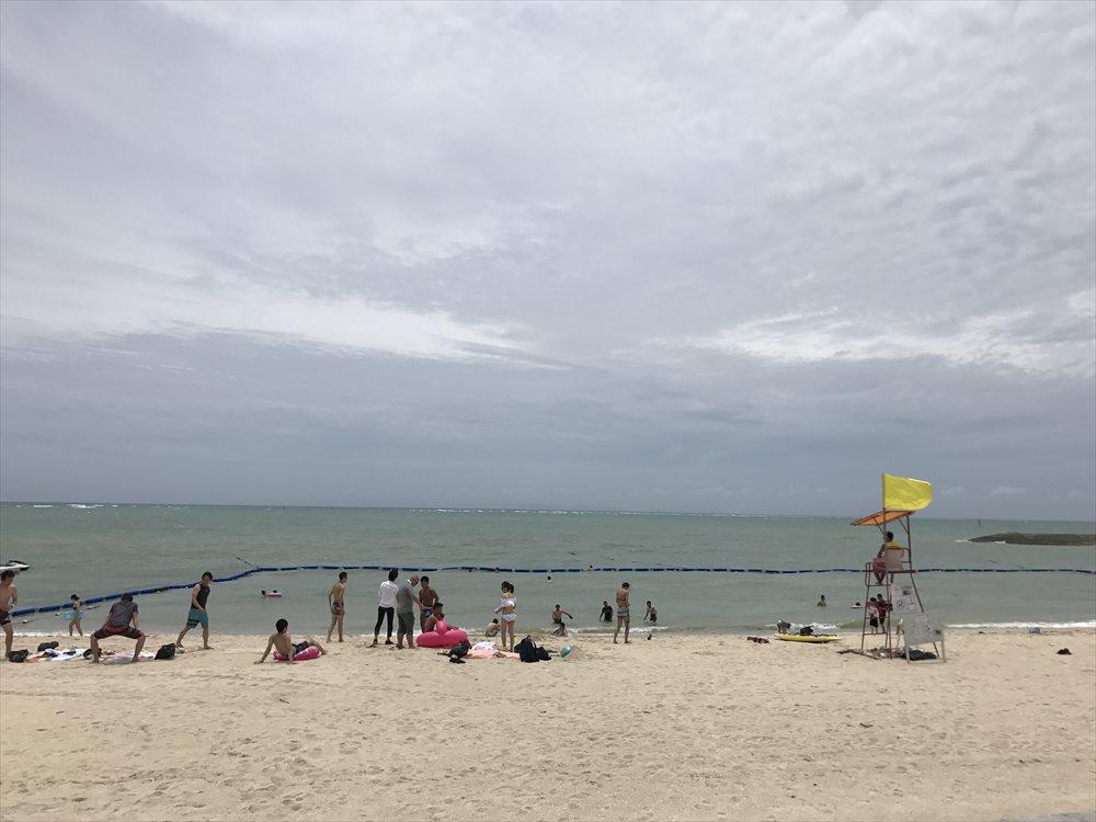 美らSUNビーチの海水浴場
