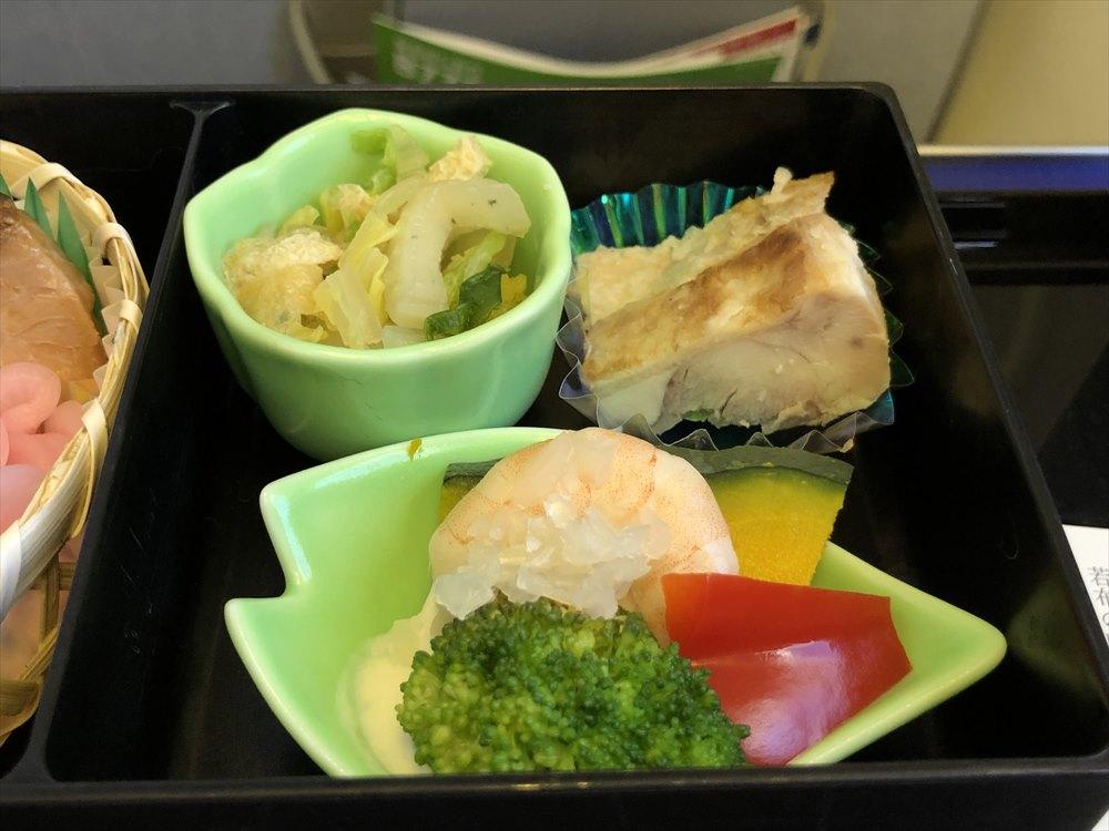 ANA471便(羽田-那覇)プレミアムクラスの機内食4