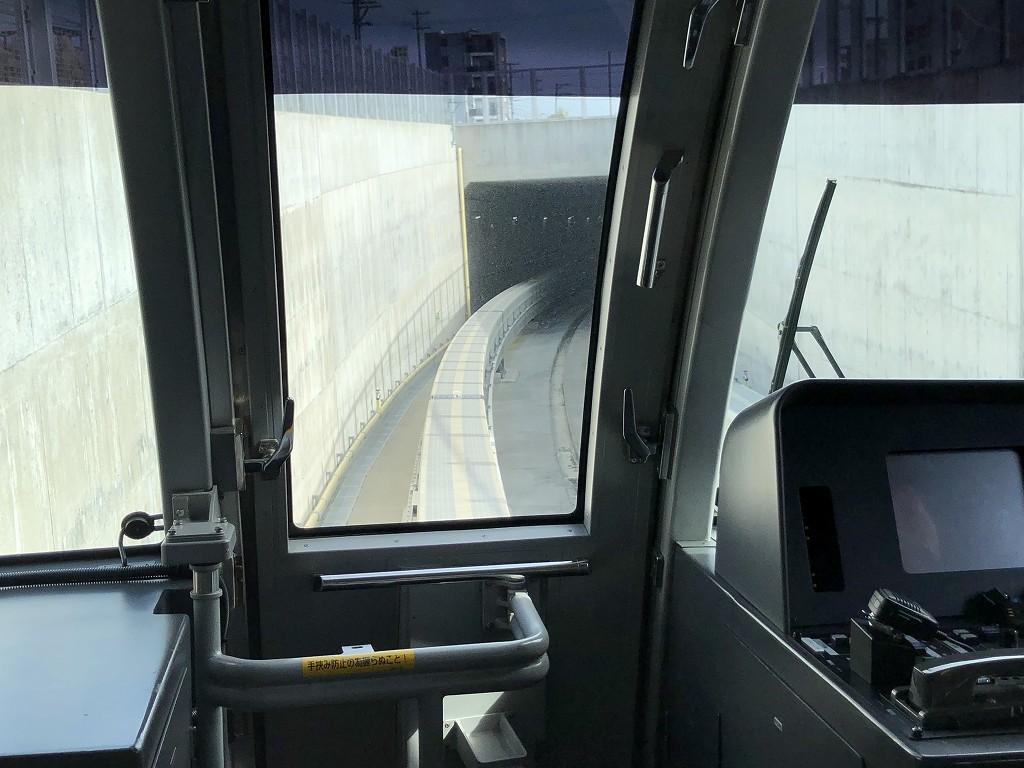 浦添前田からてだこ浦西の間のトンネル1