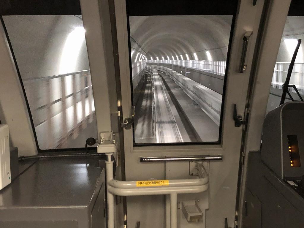 浦添前田からてだこ浦西の間のトンネル2