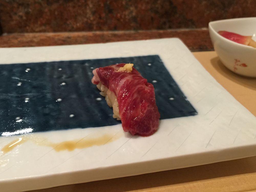 かわじ・馬肉の寿司