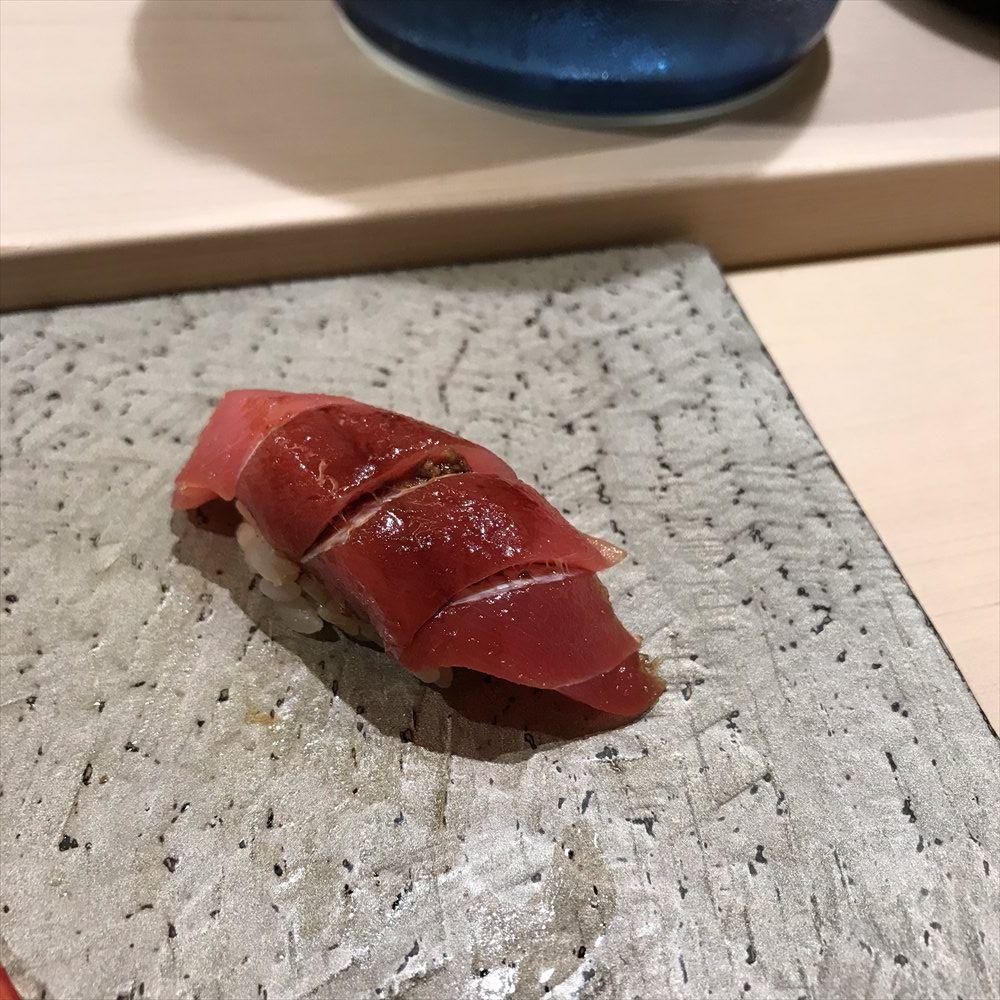 寿司 中川の赤身ヅケ