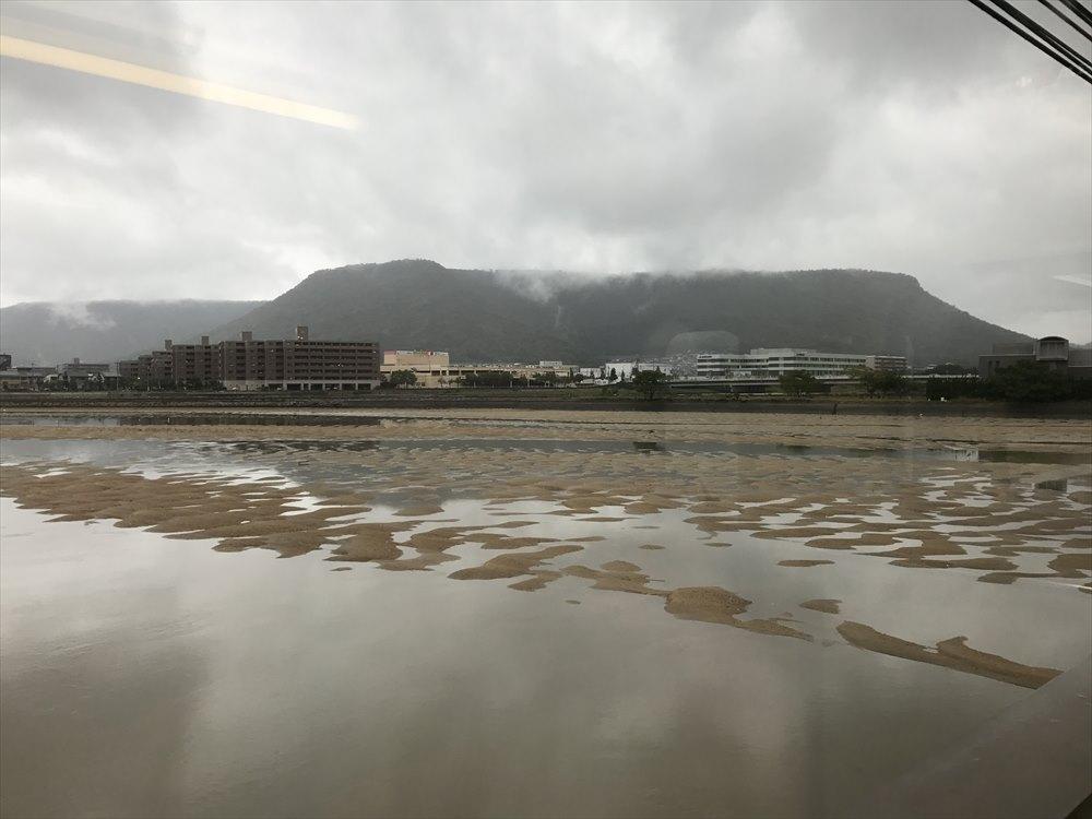 詰田川と屋島
