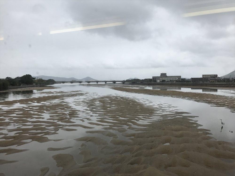 詰田川の河口