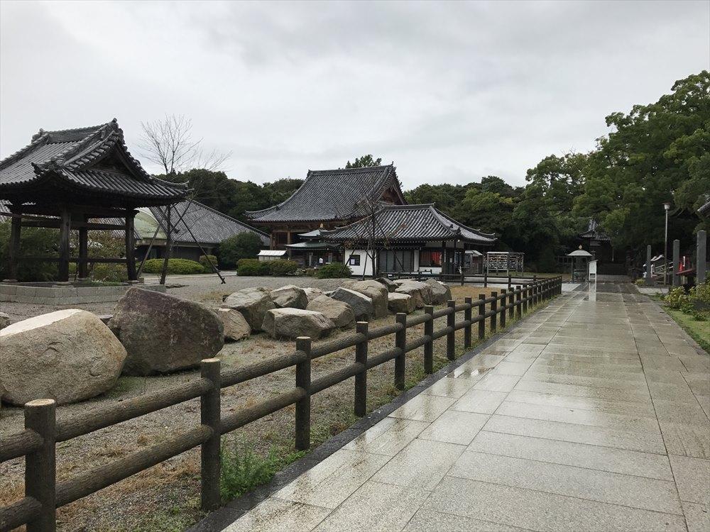 屋島寺の庭