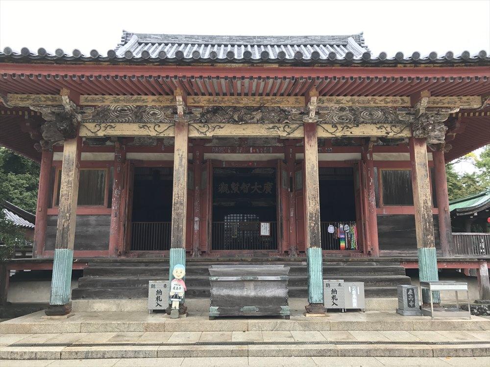 屋島寺の本堂