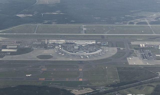 新千歳空港の形