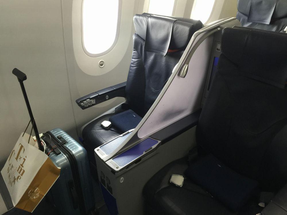 NH583の1K座席