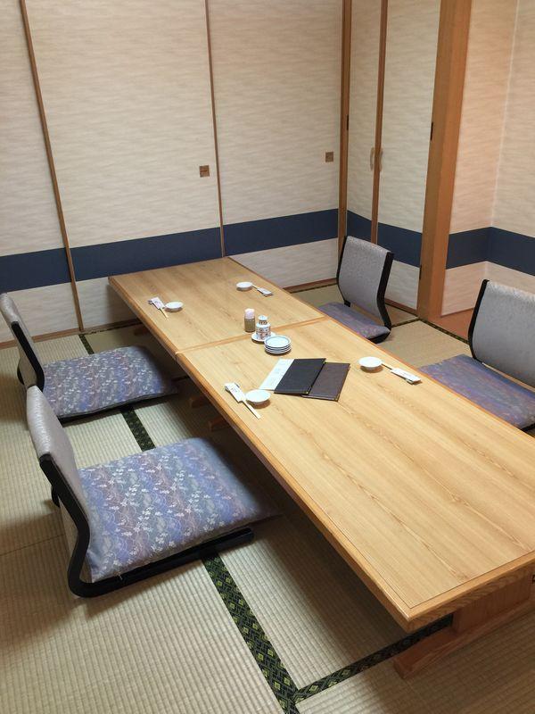 和食と鮨のに条の個室画像