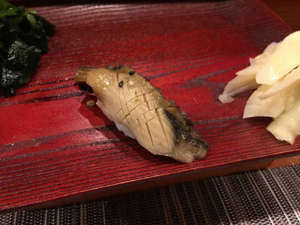 鮨匠のむら黒アワビの柔らか煮画像