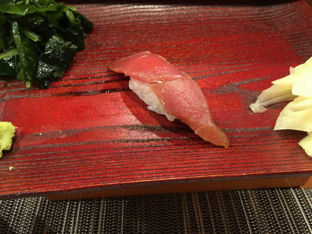 鮨匠のむら赤身のヅケ(寿司)画像
