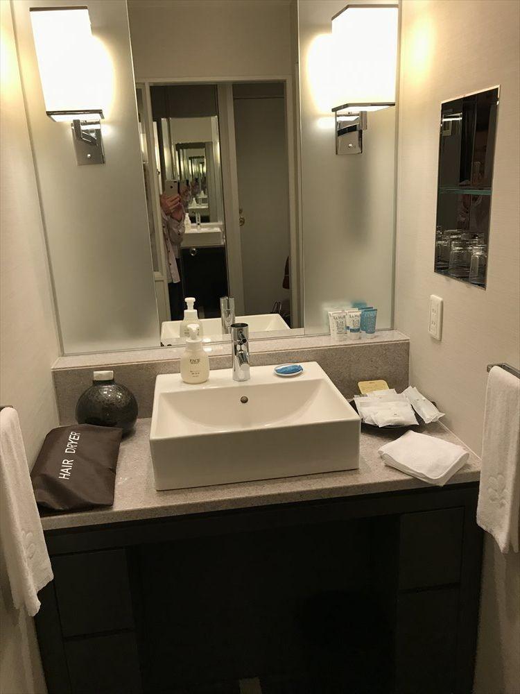 ホテル日航金沢ツインベッドルーム(洗面所)