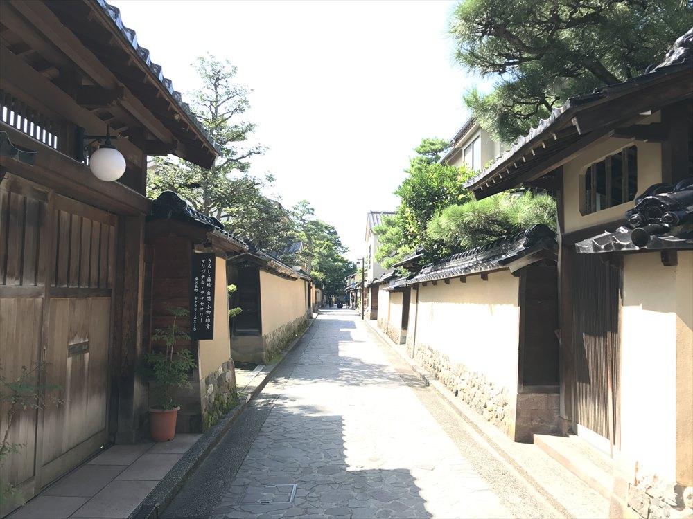金沢の長町武家屋敷