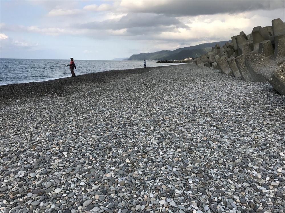 ヒスイ海岸の小石