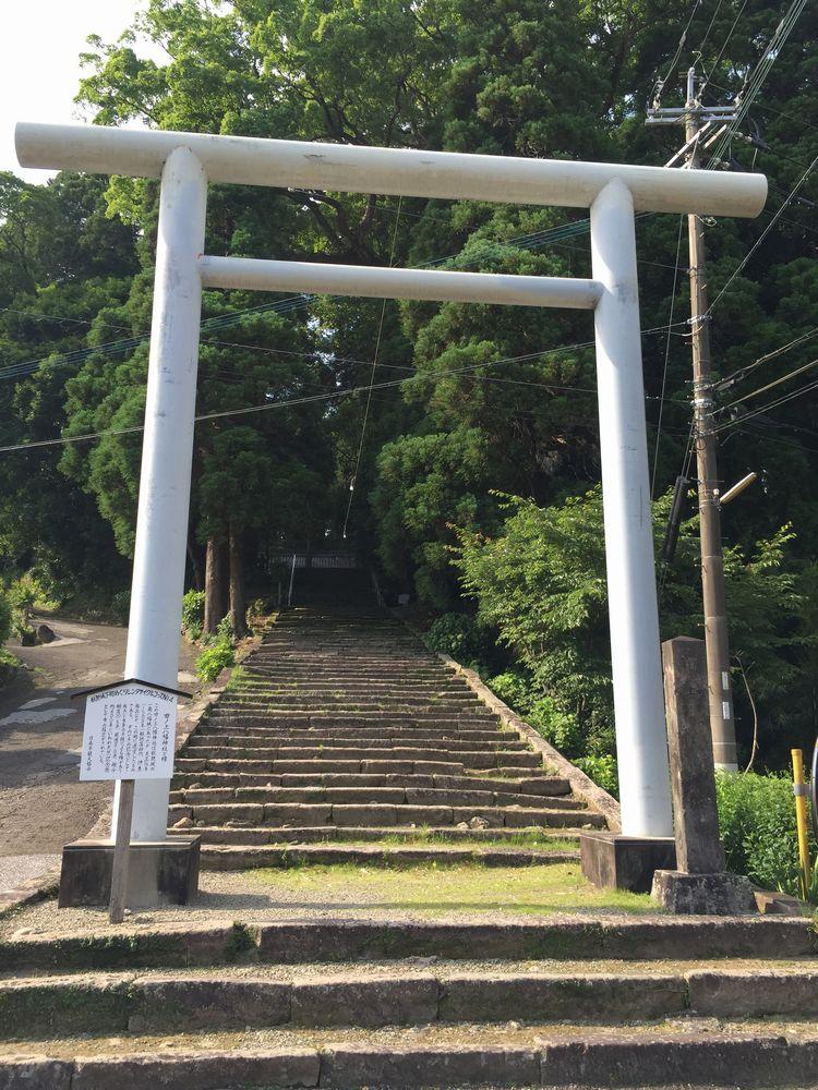 田ノ上八幡神社の鳥居