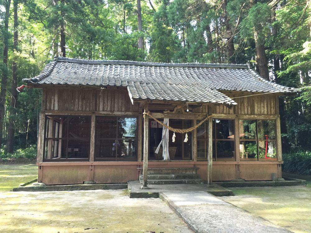 田ノ上八幡神社の社殿