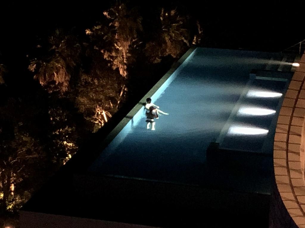 大磯プリンスホテルの空いてきたインフィニティプール2