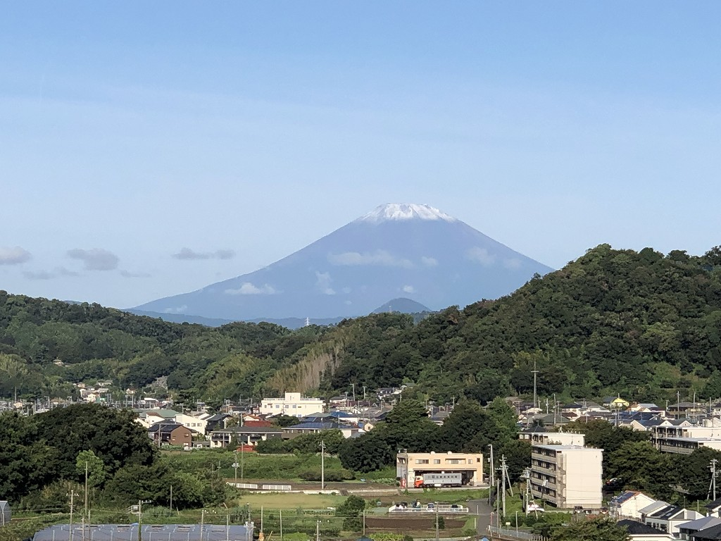 大磯プリンスホテルのフジテラスから富士山2