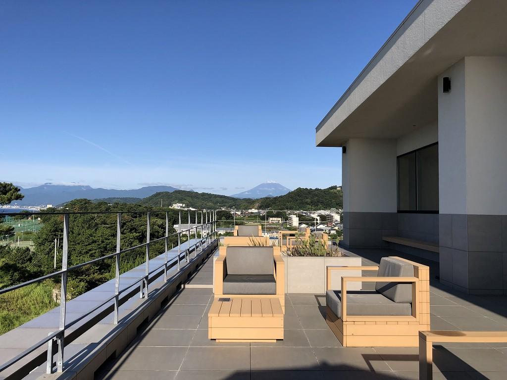 大磯プリンスホテルのフジテラスから富士山1