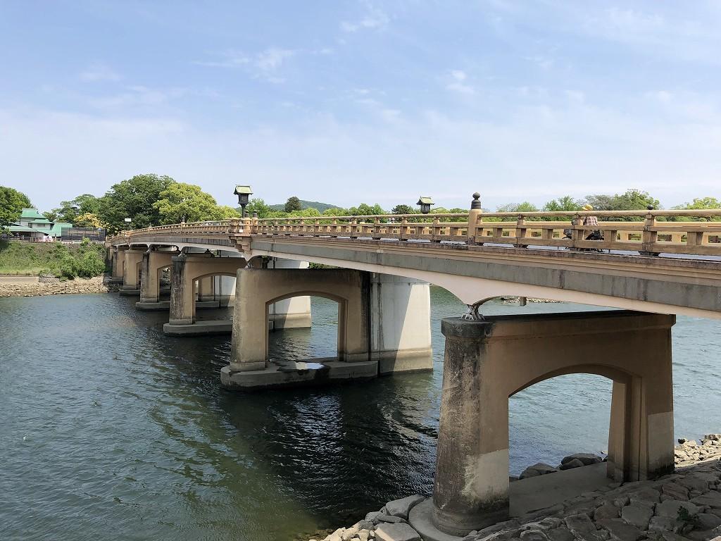 旭川に架かる鶴見橋2