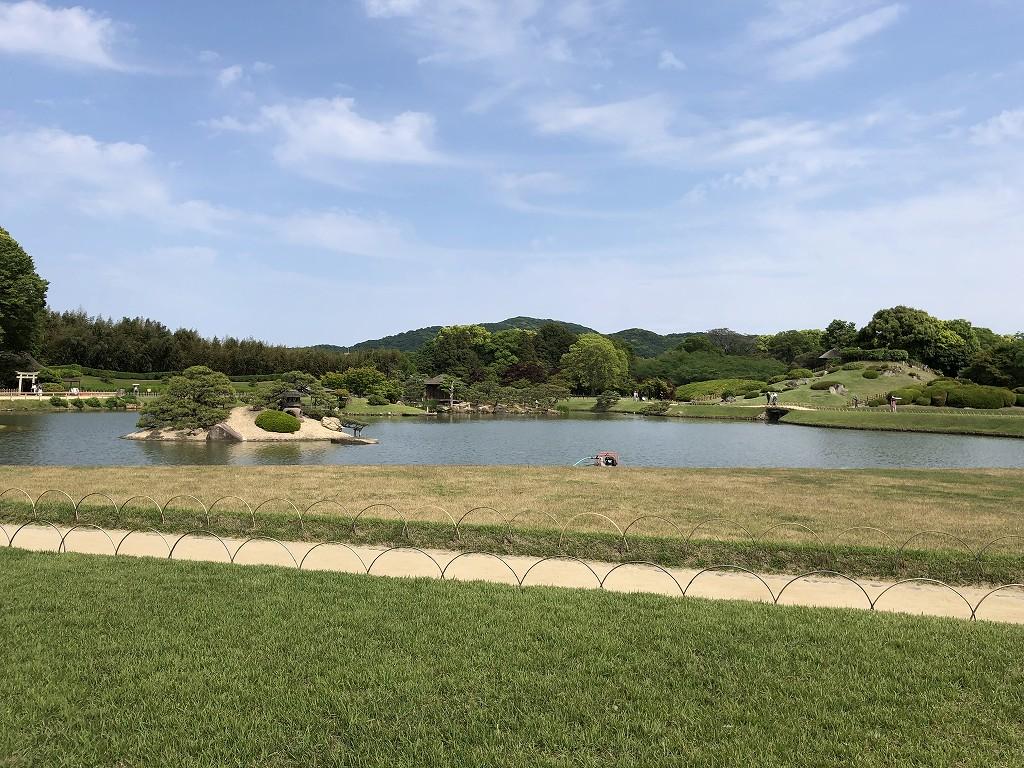 岡山後楽園と操山