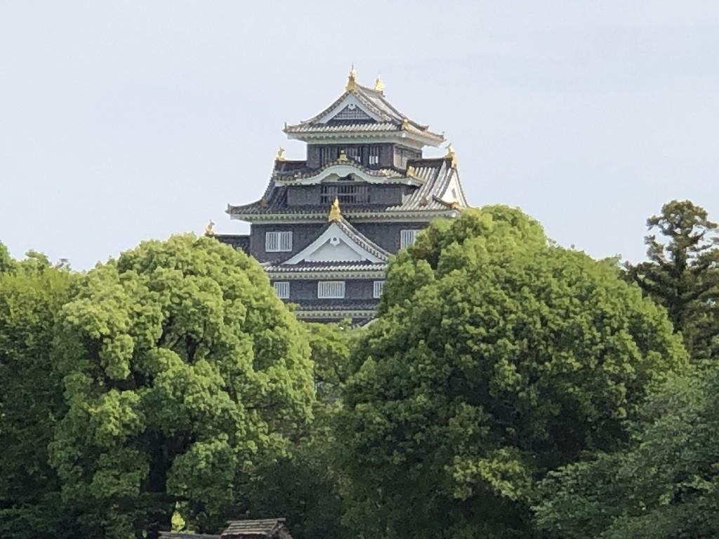 岡山後楽園と岡山城3