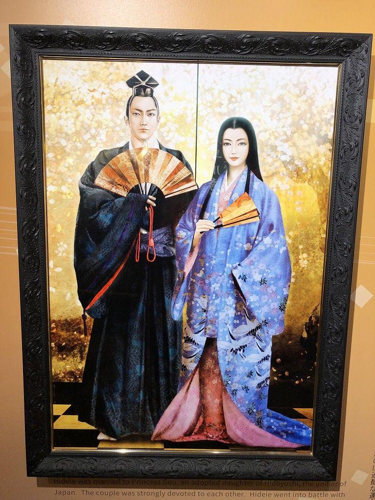 岡山城のEMAKI秀家伝2
