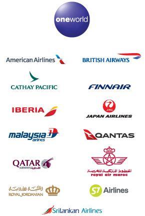 ワンワールド加盟航空会社一覧