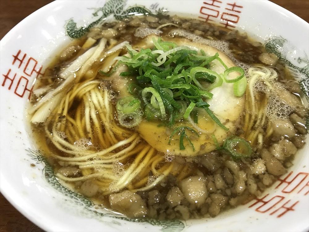尾道ラーメンたに 尾道駅ビル店のラーメン