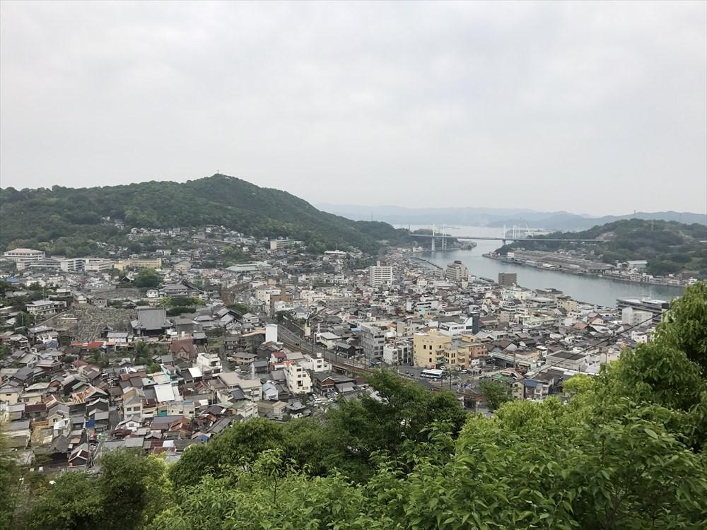 千光寺海光台から尾道水道