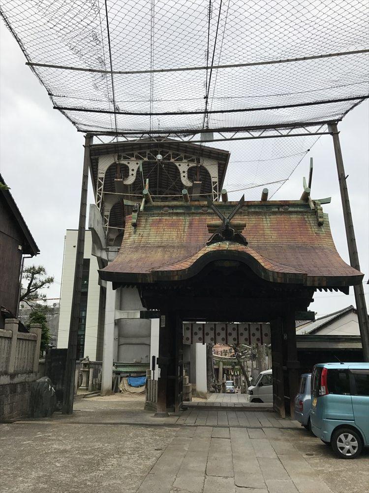 艮神社から千光寺山ローウェイ駅