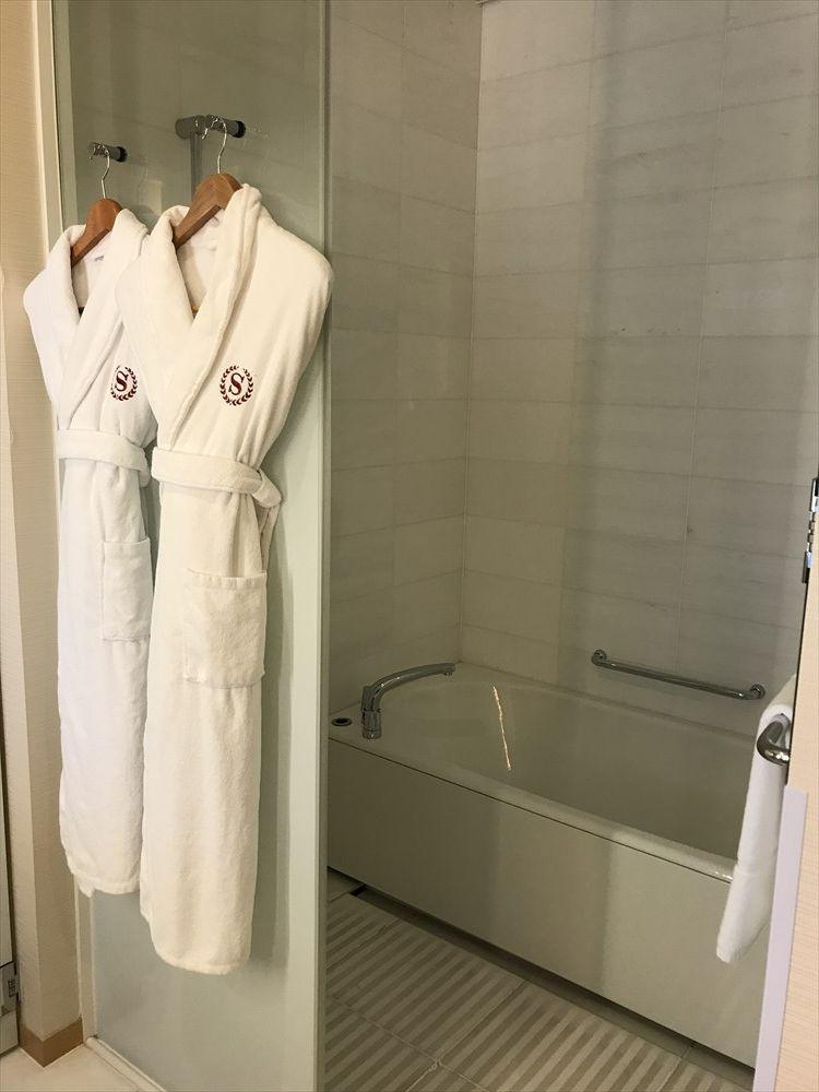 シェラトングランドホテル広島のクラブルーム(バスルーム)